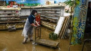 Inundaciones en Japón provocan muertes y desapariciones