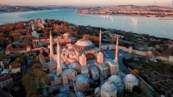 Santa Sofía - mezquita - Erdogan
