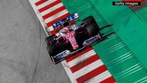 """F1: """"Checo"""" Pérez brilló en los ensayos libres"""