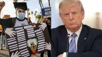 """Trump anuncia decreto que daría ciudadanía a los """"dreamers"""""""