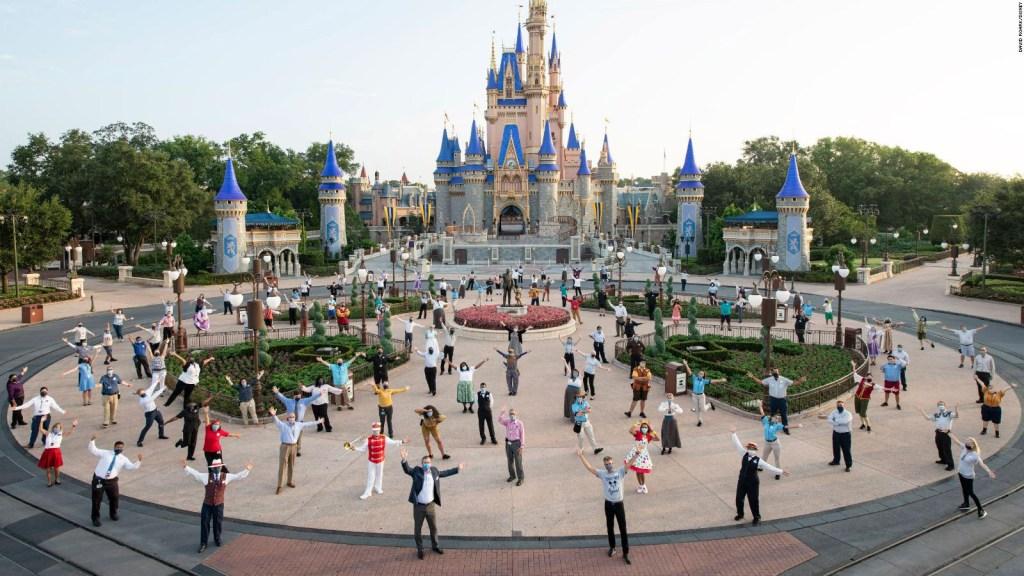 Así fue la reapertura de Disney en la Florida