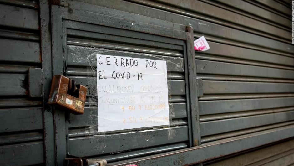 Peligran los comercios en Buenos Aires por la pandemia