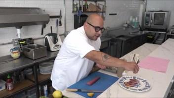 El chef Diego Hernández y el trabajo en equipo, una fórmula contra el covid-19