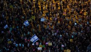 Masiva protesta en Israel por la situación económica