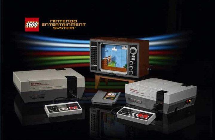 Nintendo le pide a Lego reconstruir su consola original