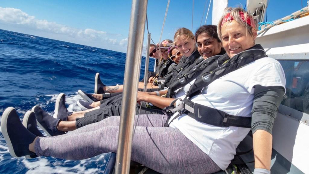 Tripulación femenina analizará contaminación en océanos