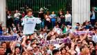Real Madrid quiere prevenir festejos masivos por el covid-19