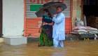 Graves inundaciones en la India, Rusia y China