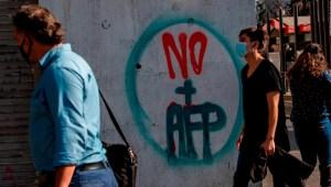 Diputados en Chile aprueban retiro anticipado de pensiones