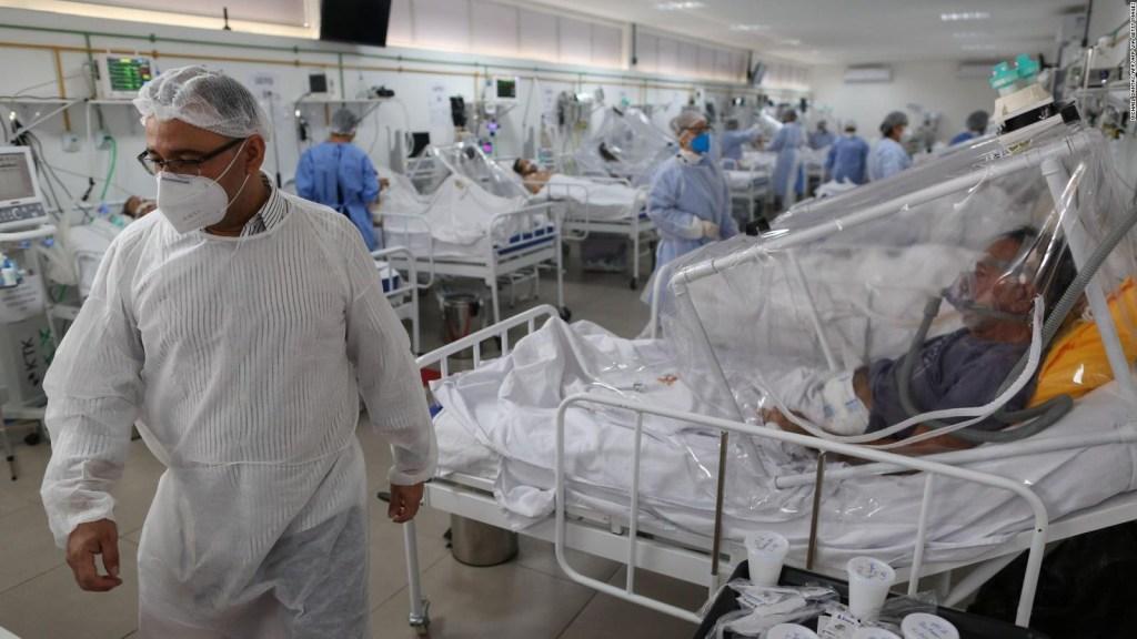 Brasil, el segundo país con más muertes por covid-19 del mundo