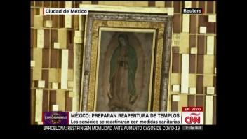 México: alistan la reapertura de los centros religiosos