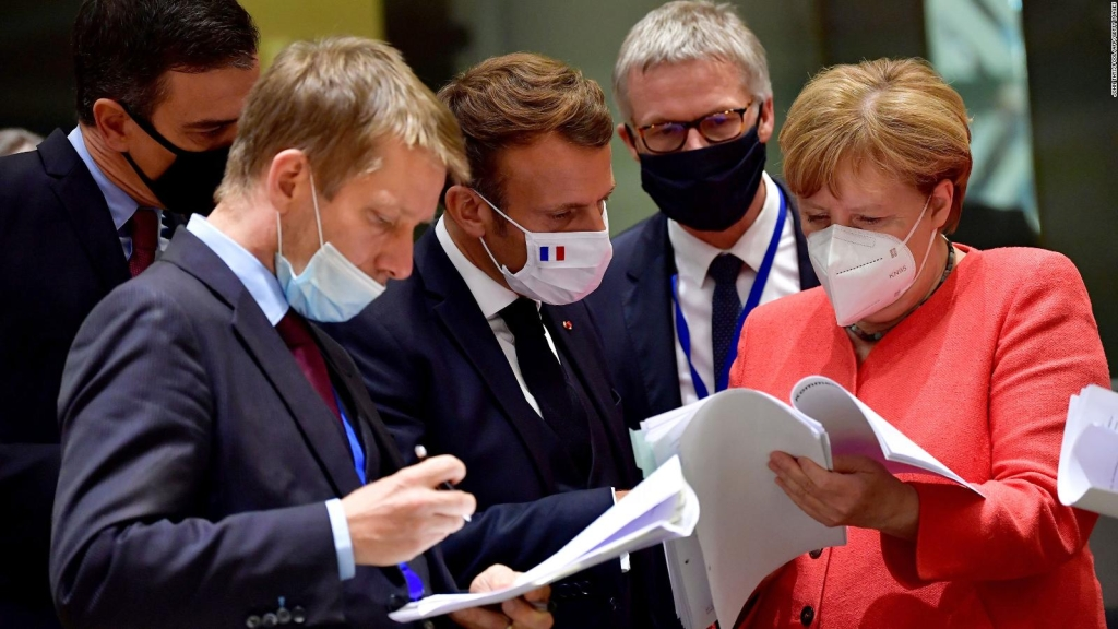 Europa acuerda plan de rescate por covid-19, pero hay un tema grave