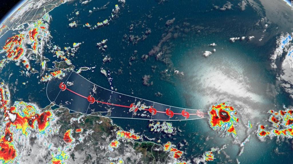 La tormenta tropical Gonzalo avanza hacia el Caribe