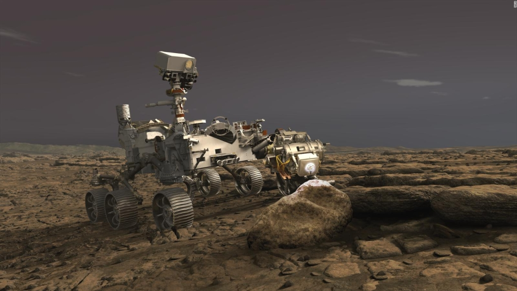 Así es Perseverance, el último rover con destino a Marte de la NASA