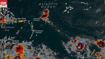El Caribe sigue el paso de la tormenta tropical Gonzalo