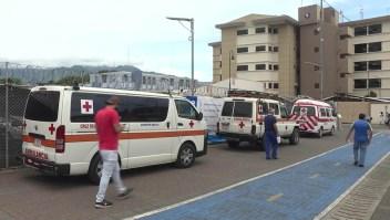 Hospitales saturados por el coronavirus en Costa Rica