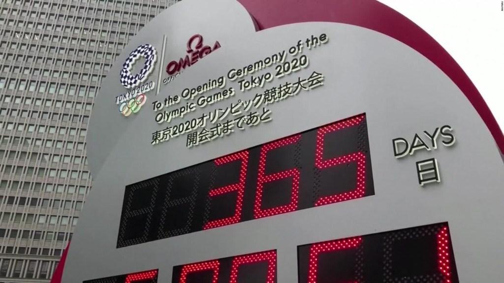 Comienza cuenta regresiva para los JJ.OO. en Tokio