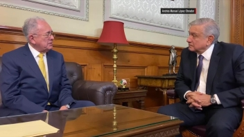 Dimite ministro mexicano por diferencias con López Obrador