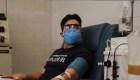 Sobrevivió al coronavirus y ha donado 3 litros de plasma