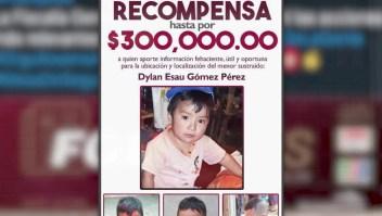 Continúa la búsqueda de Dylan en México