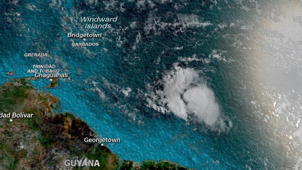 Tormenta tropical Gonzalo avanza hacia al Caribe