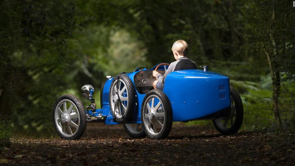 Bugatti Baby II, un auto tamaño júnior de US$ 68.000