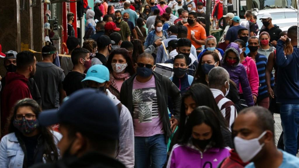 Sao Paulo, estado con más casos de covid-19 en el mundo