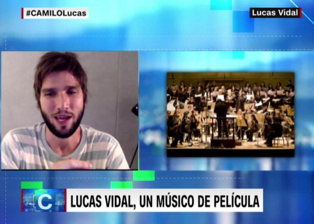 Lucas Vidal, un director de orquesta atípico