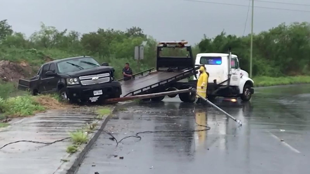 Hannah provoca inundaciones en Tamaulipas y Nuevo León