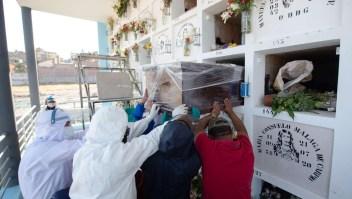 La respuesta en Arequipa para honrar a víctima del covid-19