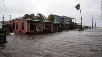 El huracán Hanna se debilita a depresión tropical después de tocar tierra en el sur de Texas