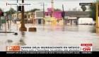 Daños e inundaciones deja la tormenta tropical Hannah