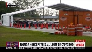 Abren centro de pruebas gratuitas de covid-19 en Miami-Dade
