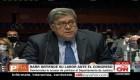Demócratas lanzan preguntas y quejas a William Barr