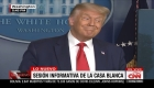 """""""Nadie me aprecia"""", dice Trump hablando de Fauci, Birx y la pandemia"""