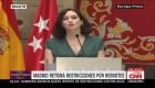 Madrid impone restricciones por nuevos casos de coronavirus