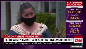 Las mujeres latinas, entre las más golpeadas por el desempleo a raíz del coronavirus