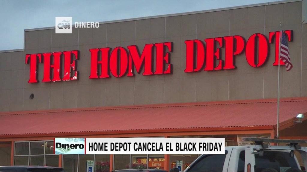 Home Depot cancela el Black Friday
