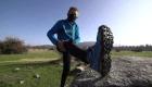 La ilusión de un alpinista de 81 años