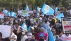 Agreden a periodistas en las manifestaciones en Guatemala