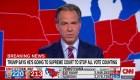 """""""Increíblemente decepcionante"""", el presentador de CNN Jake Tapper critica el escalofriante discurso de Trump tras las elecciones"""