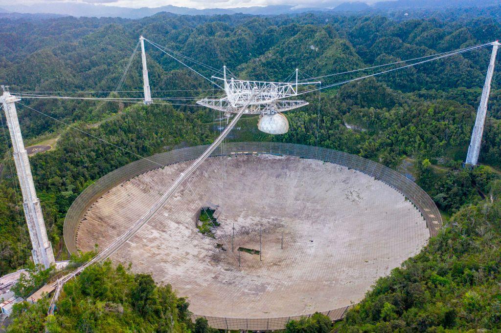 Cierra el observatorio de Arecibo en Puerto Rico tras décadas de actividad