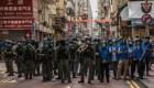 Hong Kong detiene a activistas por protestas antigobierno