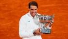 Rafael Nadal y su sorprendente 2020 en la cancha