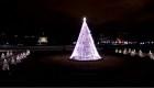 Washington enciende el Árbol Nacional de Navidad