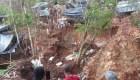 Derrumbe en Nicaragua es consecuenciade dos huracanes