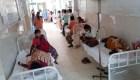 Más hospitalizados por misteriosa enfermedad en la India