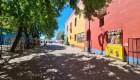 Turismo en Caminito, en la ciudad de Buenos Aires