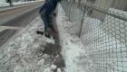Así quedó Nueva Jersey tras la tormenta de nieve
