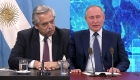 Dilema en Argentina tras palabras de Putin sobre vacuna rusa